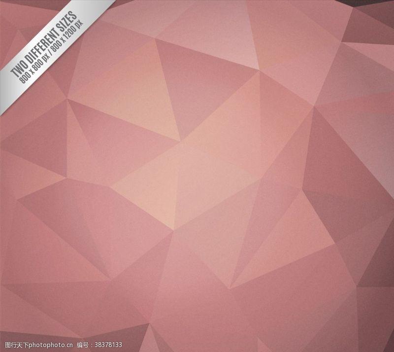 多边形设计抽象多边形三角形背景