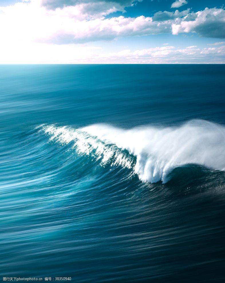 海岸线海水