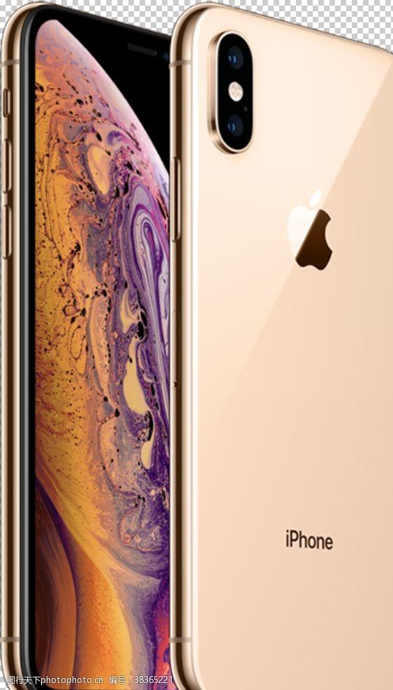 苹果iphone苹果,iPhoneXS,金色