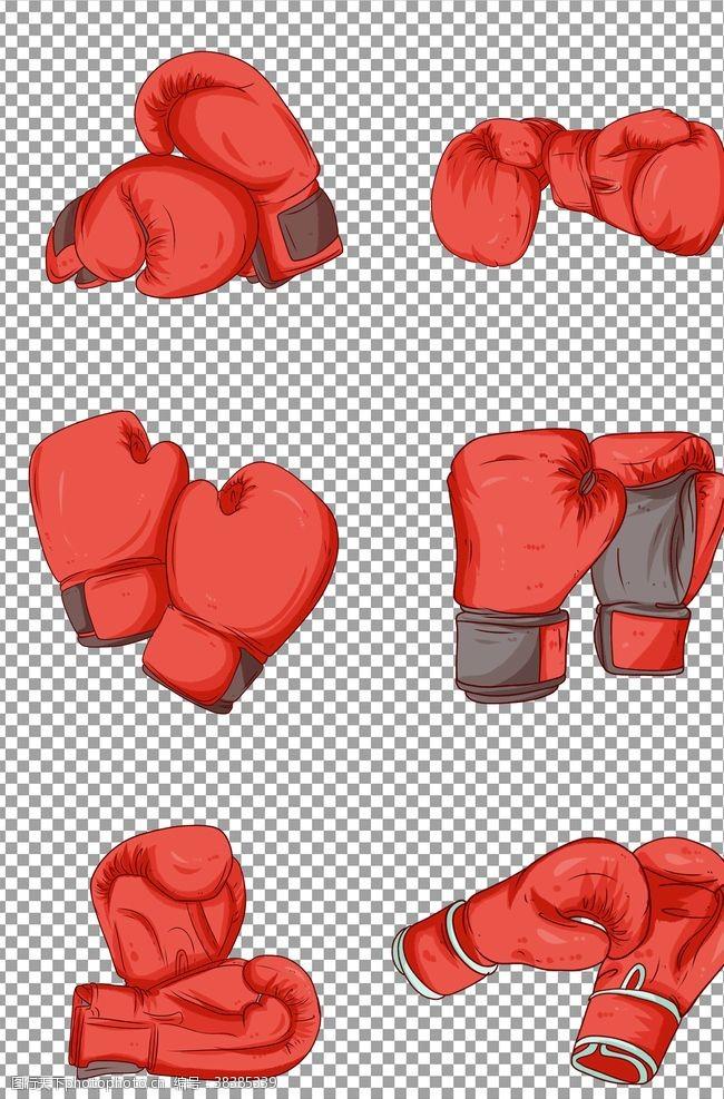 元素拳击手套
