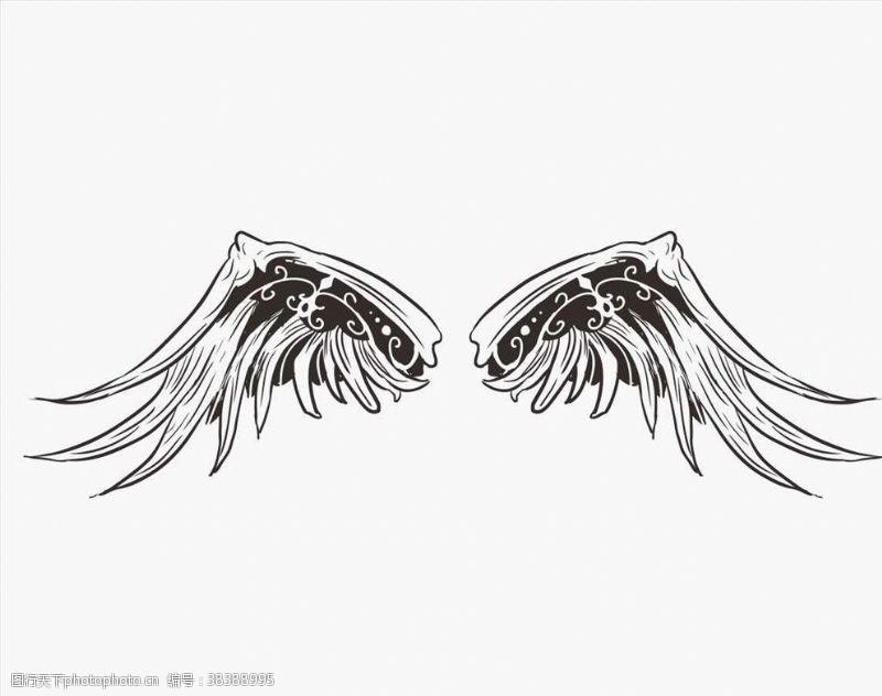 动物矢量翅膀