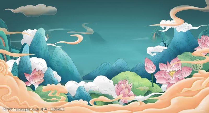 古典背景中国风背景