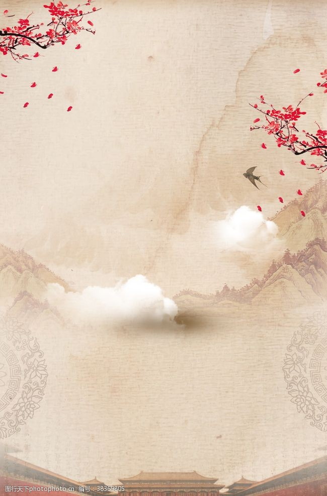 江南中国风背景
