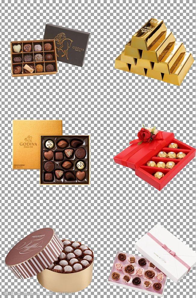 元素丝滑七夕巧克力