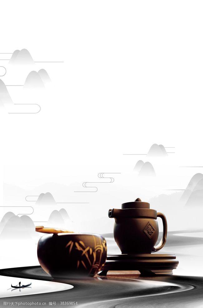 江南中国风茶道