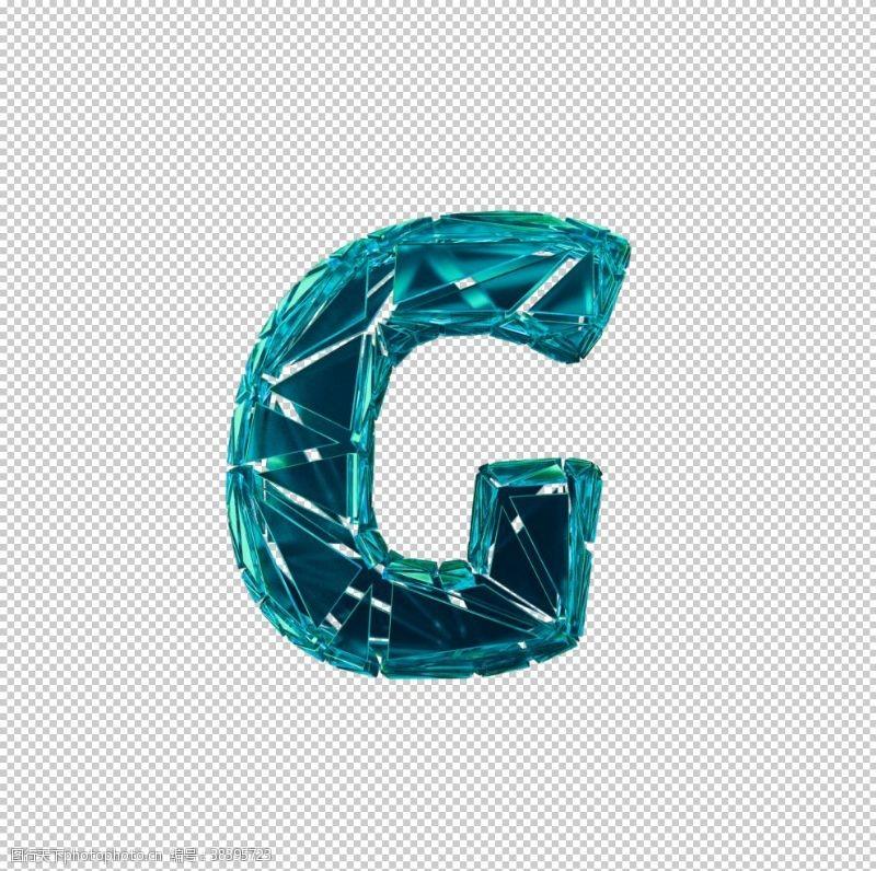3d设计3D破碎数字G