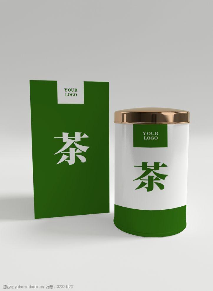 茶叶包装样机