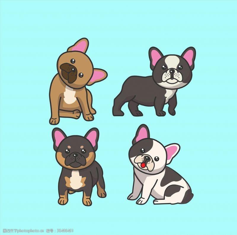 宠物之家卡通狗
