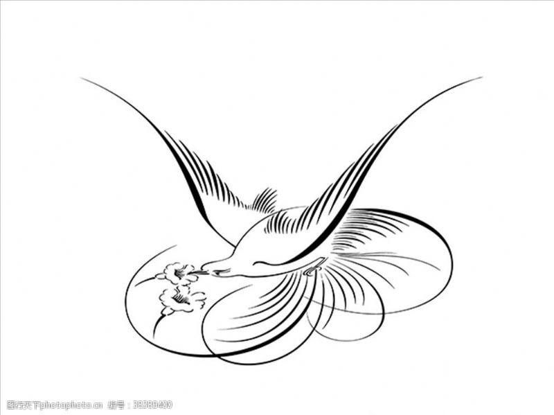动物鸟剪影