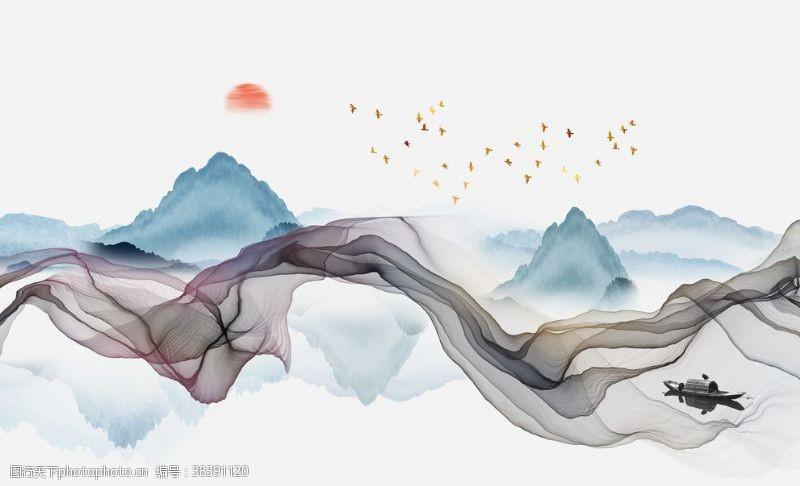 新中式轻奢装饰画