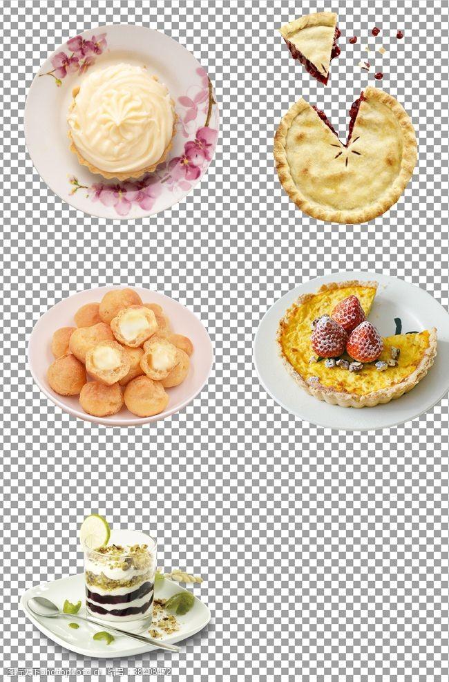 png手工烘焙甜品