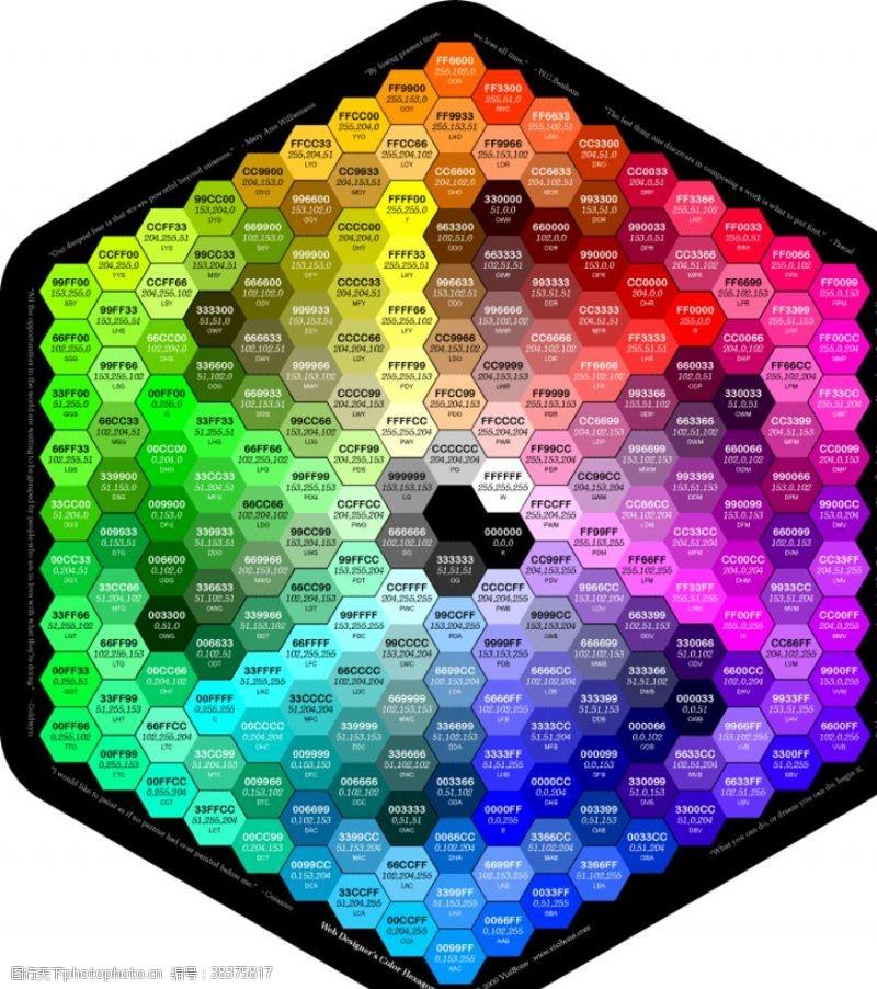 色块网页配色盘