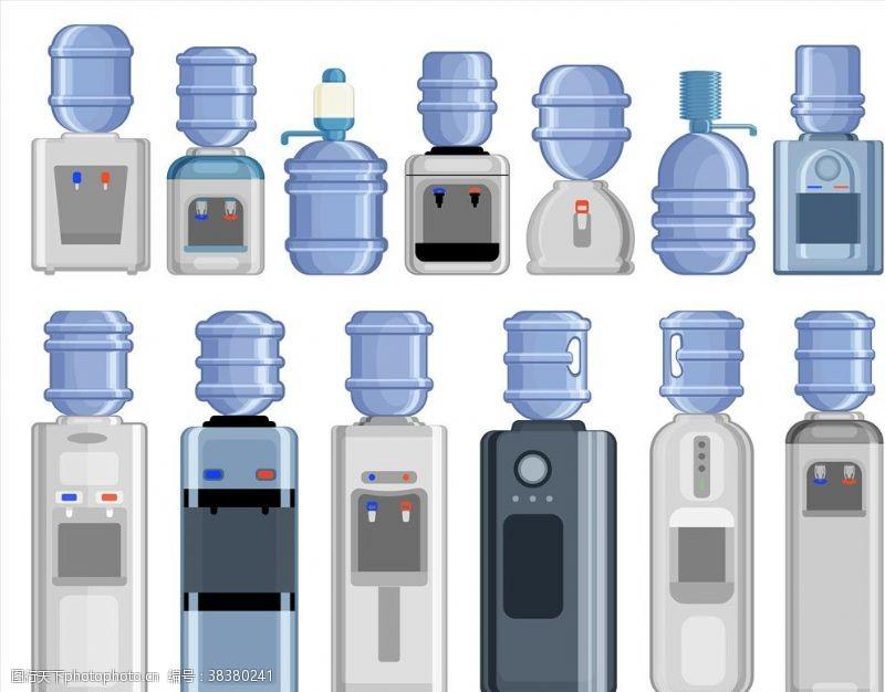 线条饮水器