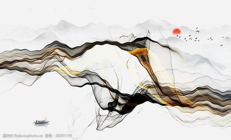 新中式艺术装饰画