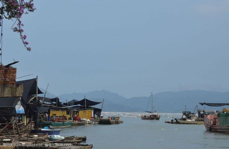 水上运动渔船