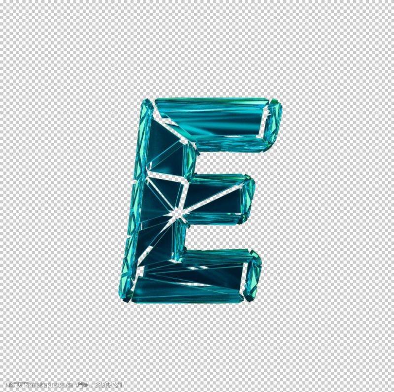 3d设计3D破碎数字E