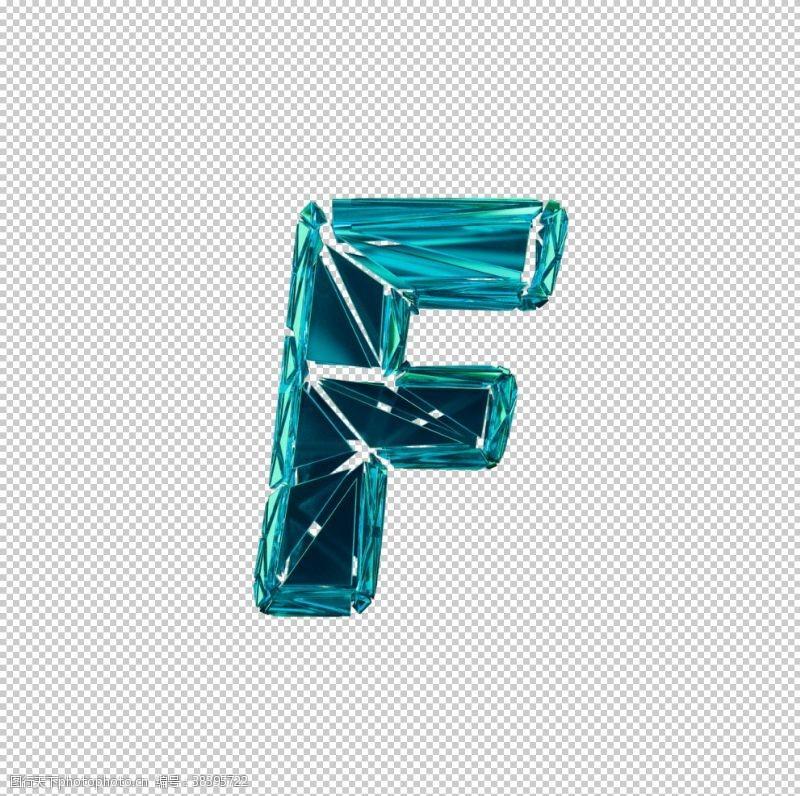 3d设计3D破碎数字F