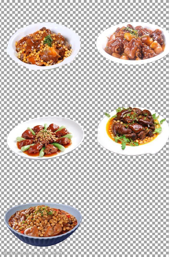 png黄豆焖猪手