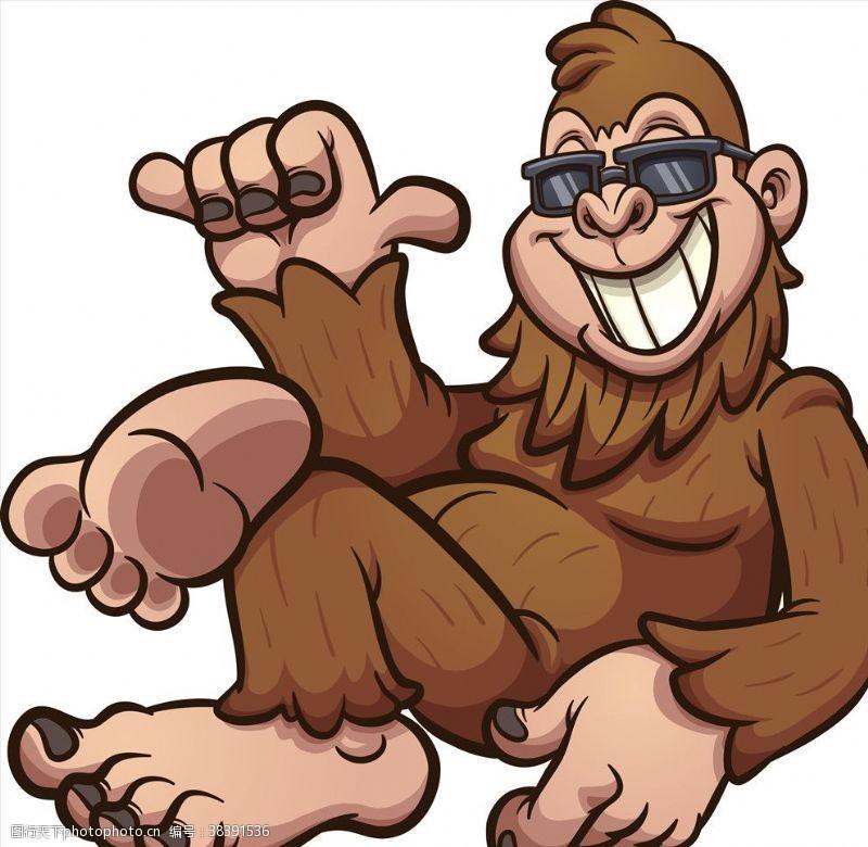 动物卡通猩猩