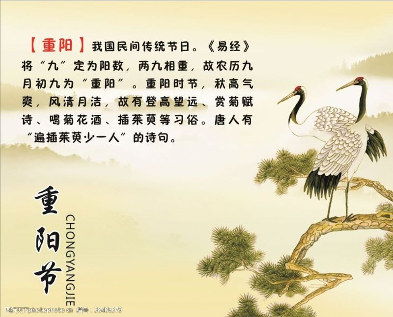 传统节日图重阳节