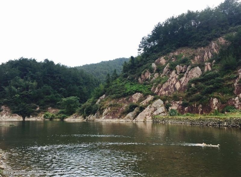 小溪自然村