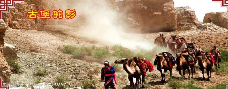 80dpi古城骆驼
