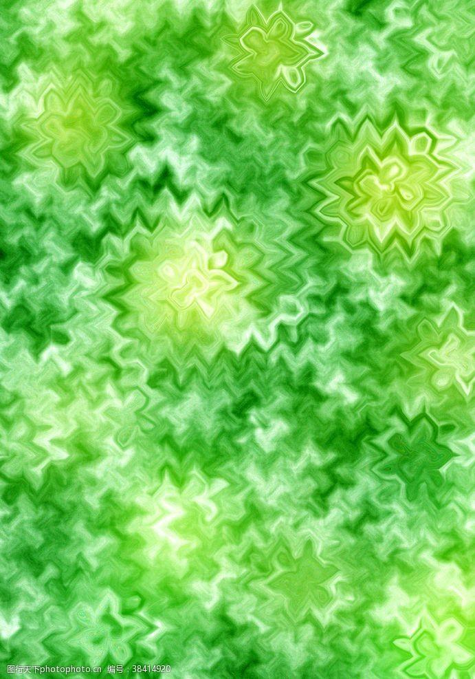 花式背景绿色纹理