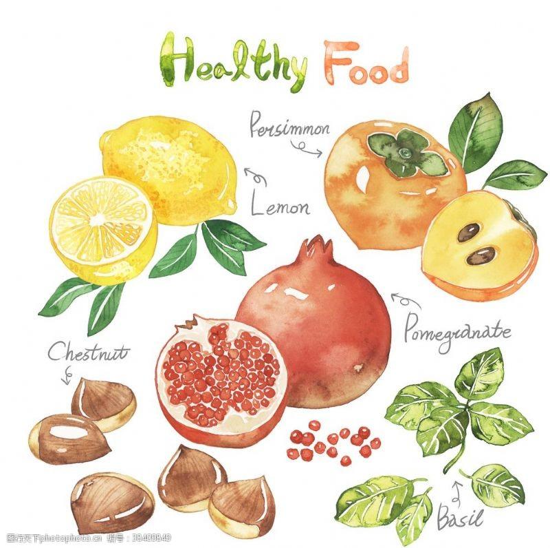 手绘蔬菜水果海报