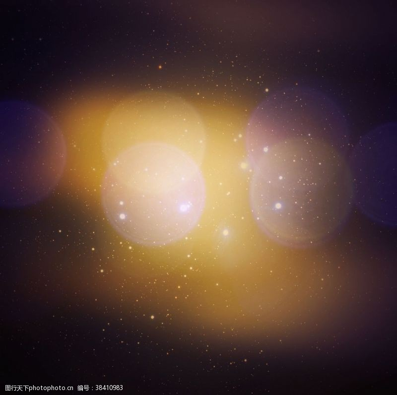 舞台背景星系