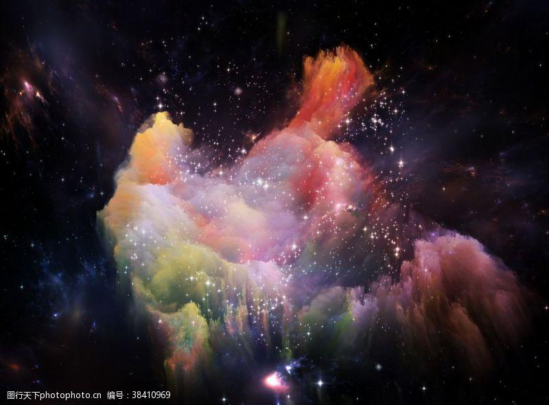 舞台背景宇宙星空
