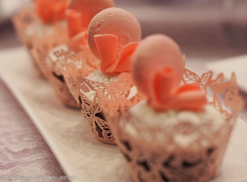 高端茶歇甜点马卡龙蛋糕