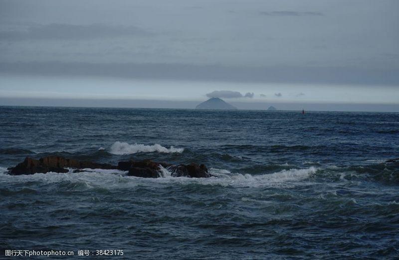 海岛摄影风云浪起
