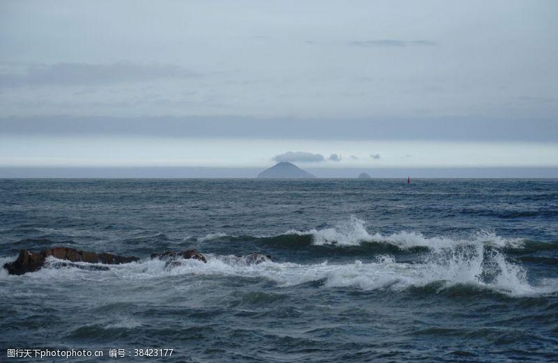 海岛摄影海浪