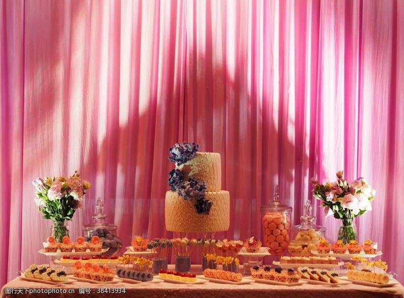 高端婚礼茶歇甜点