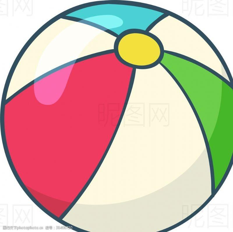 沙滩排球皮球