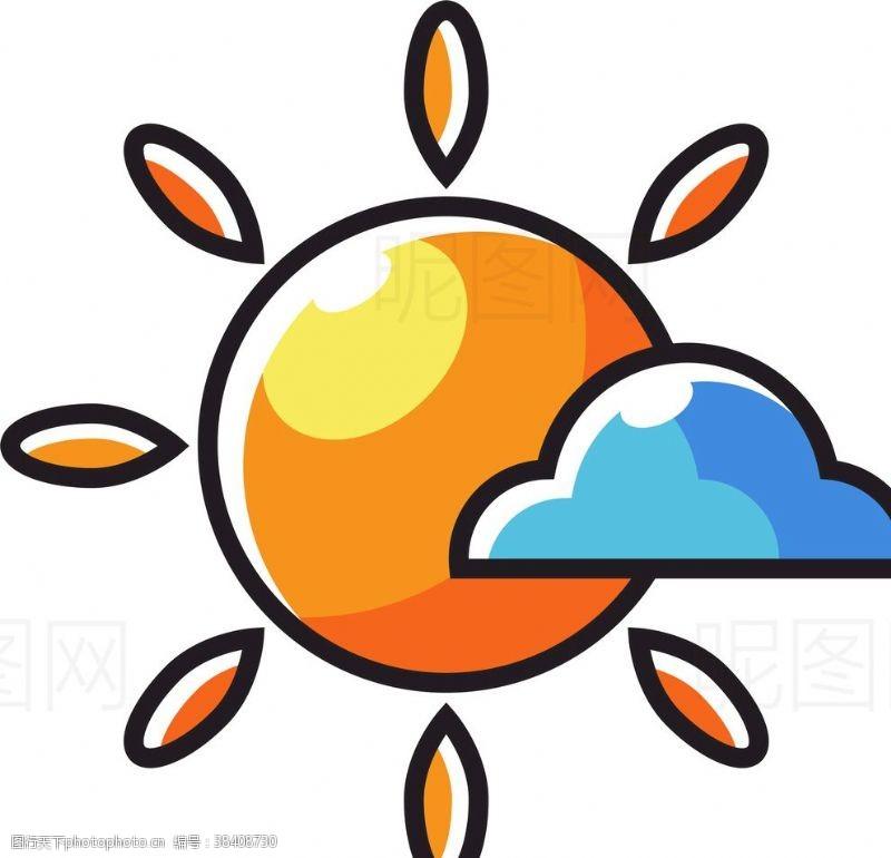 沙滩排球太阳