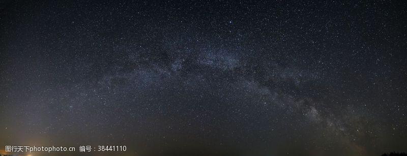 夜晚的天空夜景天空