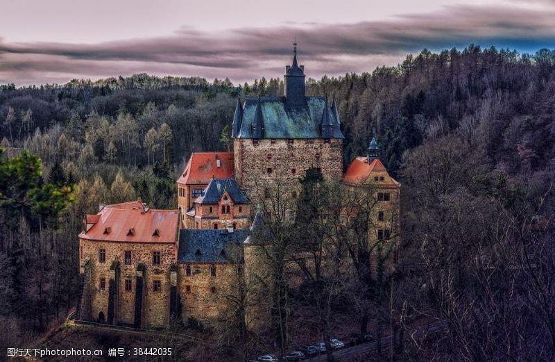 城堡建筑风景