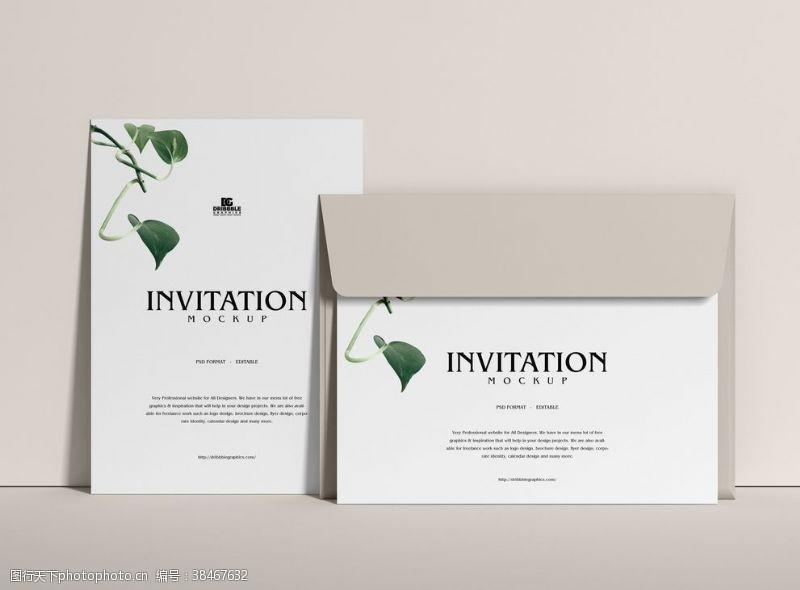廣告設計邀請函樣機