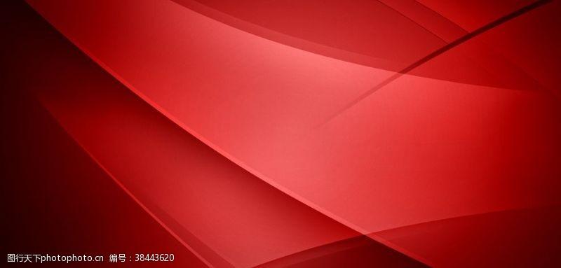 紅色漸變立體企業文化背景素材