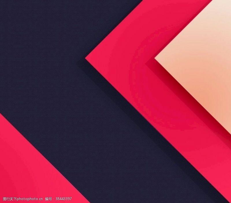 紅色幾何元素