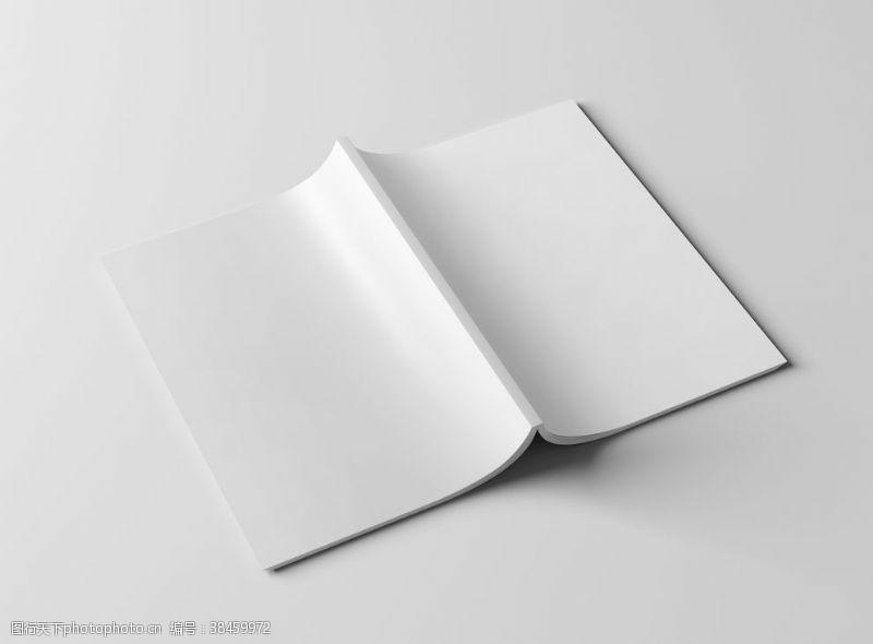精装书 画册封面样机图片