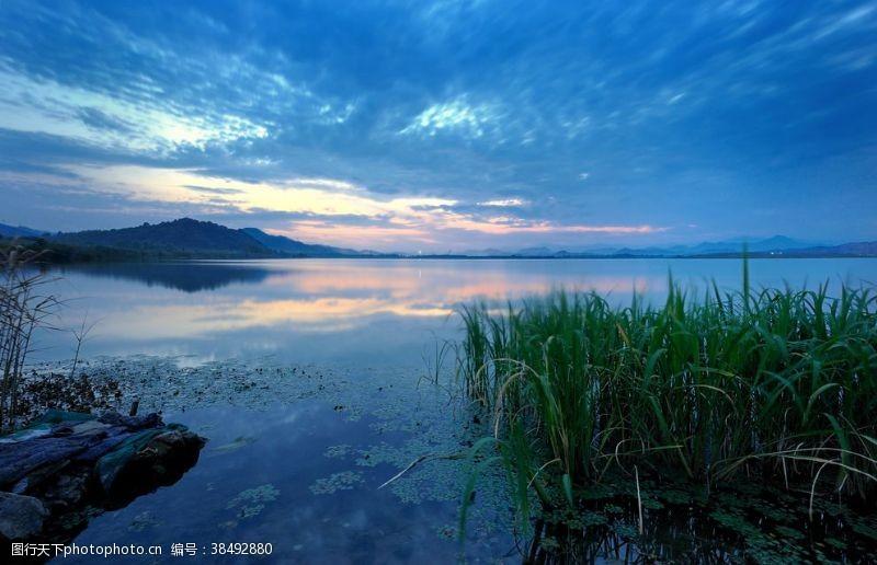 杭州余杭南湖