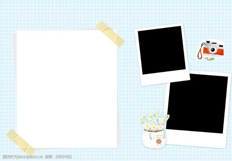 写真模板儿童相册成长相册影楼模板
