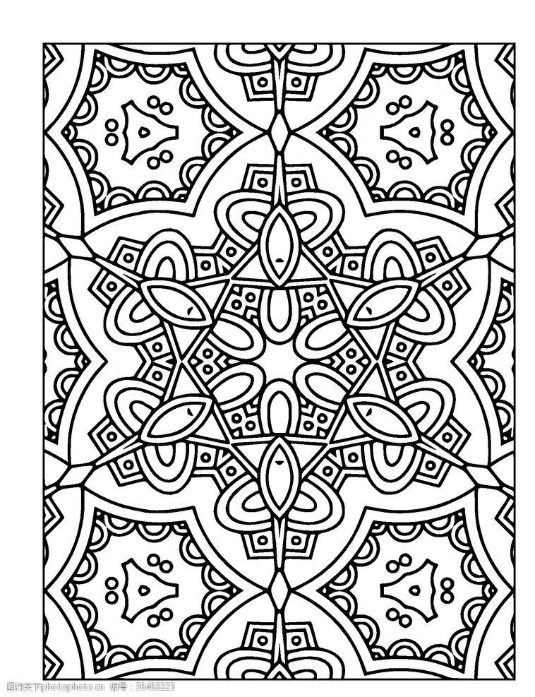 扑克牌 中式背景底纹图片