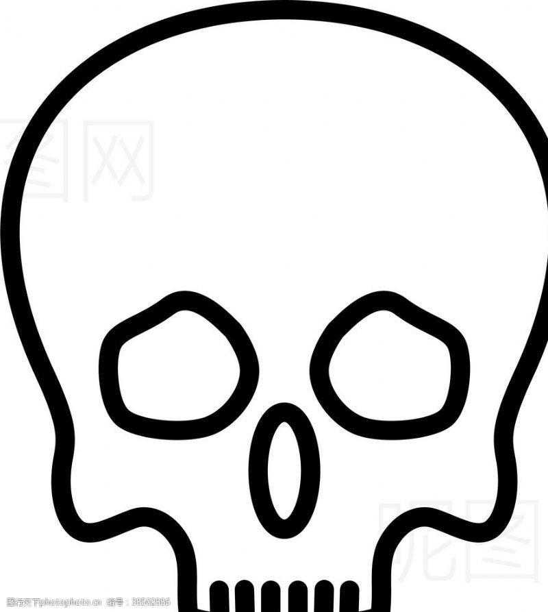 身体器官骷髅