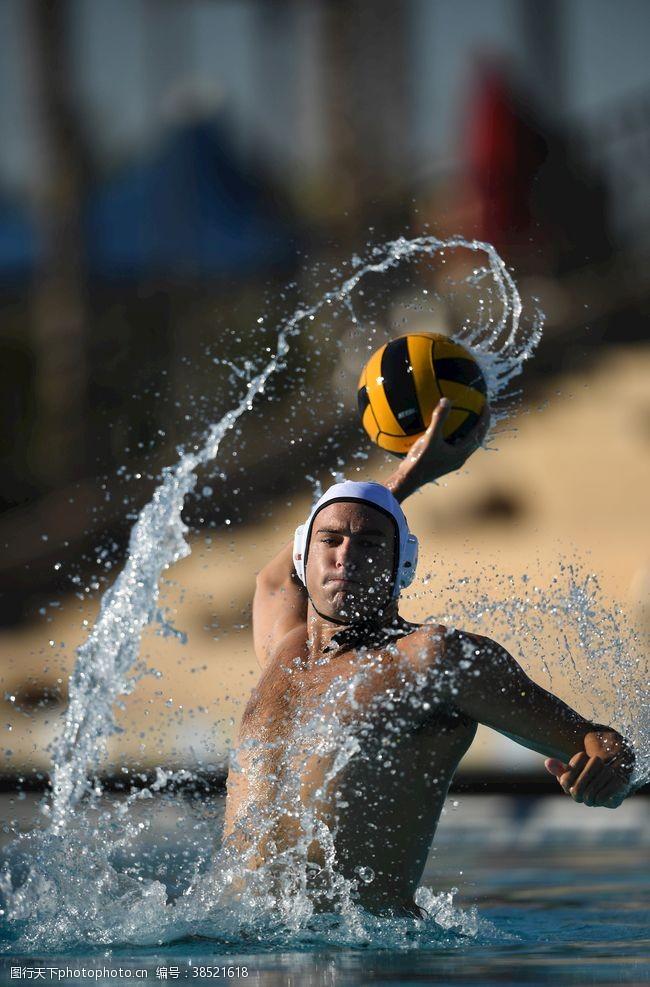 水上运动水上排球