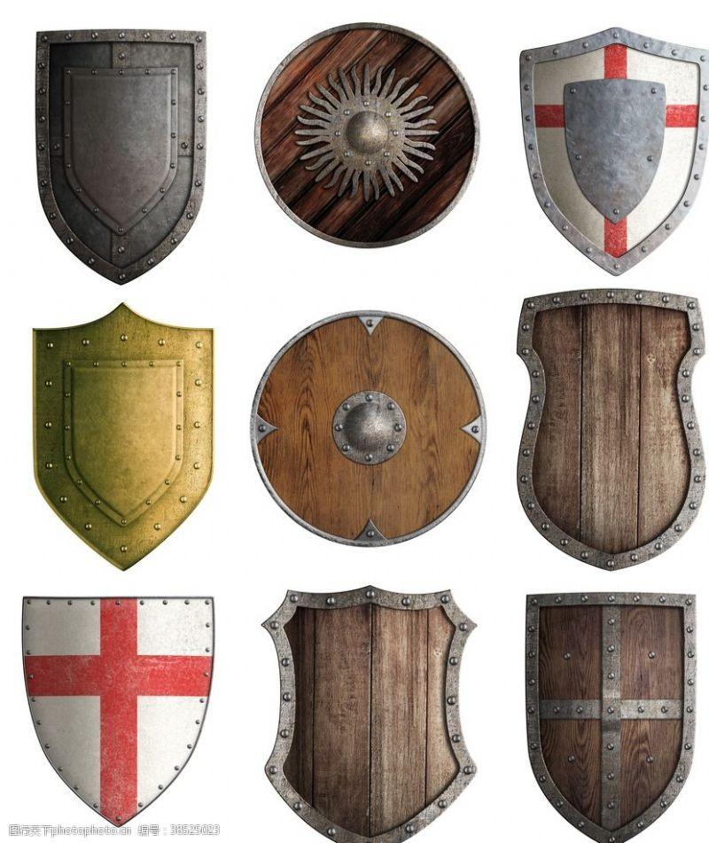 金属盾牌盾牌
