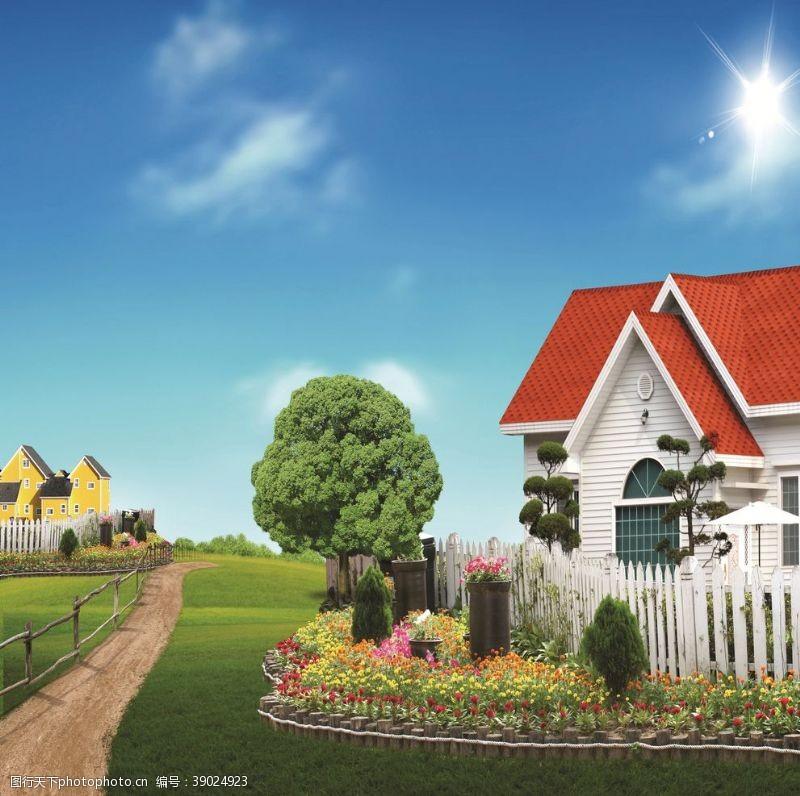 环境设计 别墅图片