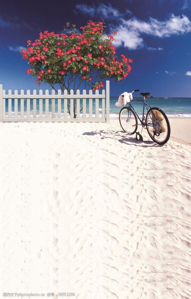 海岛摄影沙滩